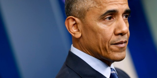 U.S. President Barack Obama participates in his last news conference of the year at the White House in Washington