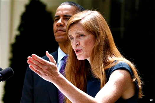 Barack Obama, Samantha Power