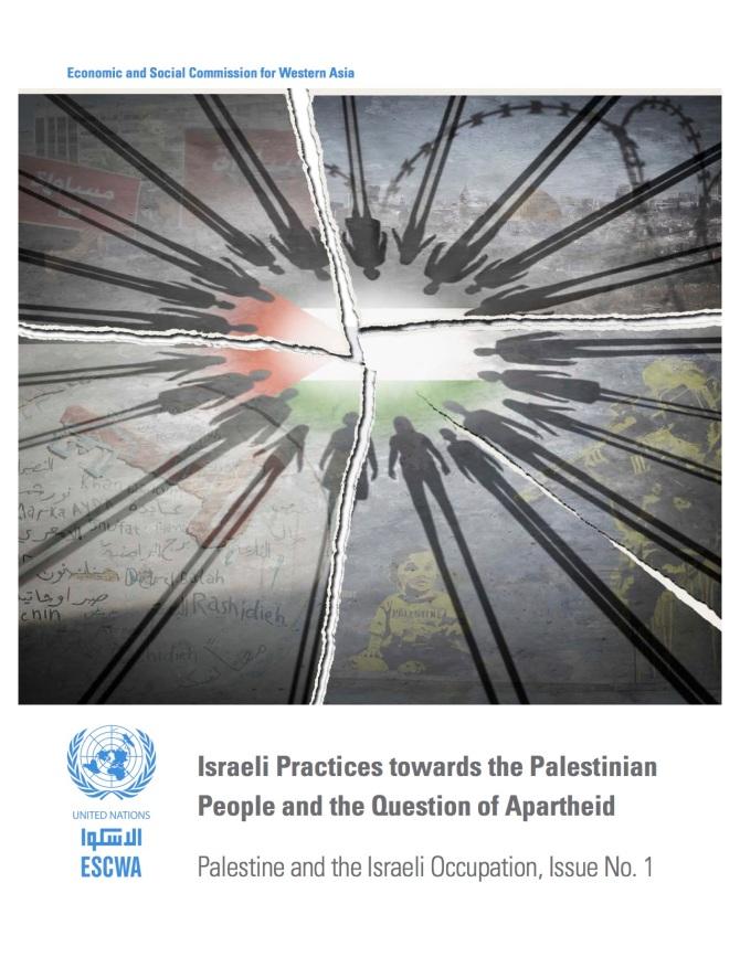 UN ESCWA Israeli Practices cover