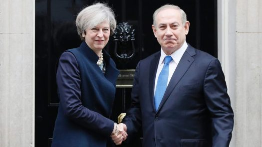 may & netanyahu