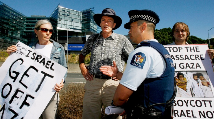 New Zealand Peer Protest