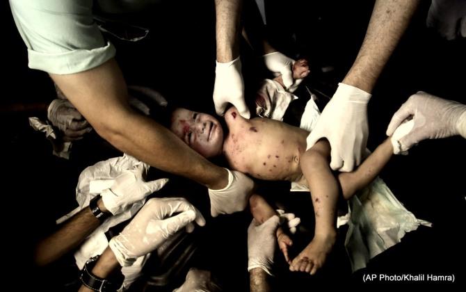 Mideast Gazas Emergency Room