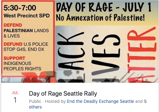 Day of Rage Seattle Rally