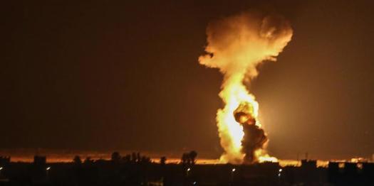 Gaza-Bombing